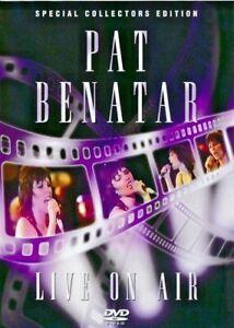 PAT BENATAR - Live On Air - Collectors Edition DVD NEW