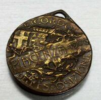 medaglia RICORDO DELL' ESPOSIZIONE PIACENZA 1908