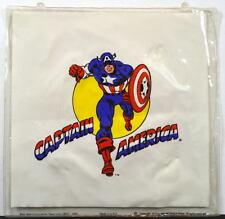 1975 CAPTAIN AMERICA INFLATABLE PILLOW Classic Art Marvelmania Best Seal RARE