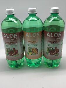 Aloe Vita Mango Aloe Vera Juice 1 Qt. Aloe Vita Pomegranate Juice 1 Qt. x 3
