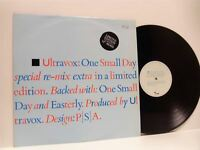 """ULTRAVOX one small day (numbered limited edition) 12"""" EX+/EX VOXX 2, vinyl, 1984"""