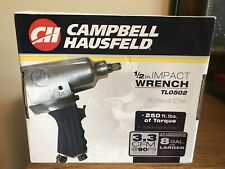 "Campbell Hausfeld 1/2"" Impact Wrench TL0502 New In Box"