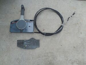 """Yamaha 703 Side Mount Remote Control Throttle Shift Box Assy witch 10.5"""" cable"""
