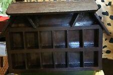 Vintage Shadow Box - Wall Hanging Display Shelves (3)