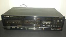 Pioneer Stereo-Double Cassette-Deck-CT-1280WR Synchro Copy System Japan ~ EUC!
