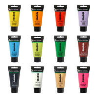 Reeves Art & Craft Acrylic Paint 75ml Tubes 49 Colours Available