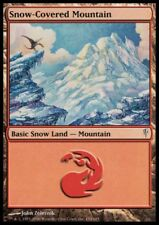 MTG 1x Snow-Covered Mountain-Coldsnap * FOIL Presque comme neuf *