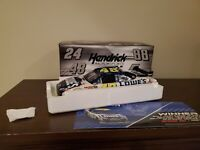 JIMMIE JOHNSON #48 2010 LOWES DUEL RACED WIN 1/24 SCALE NEW FREE SHIPPING