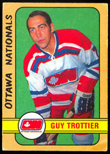 1972 73 OPC O PEE CHEE WHA #326 GUY TROTTIER VG-EX OTTAWA NATIONALS HOCKEY CARD