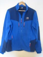"""A LOVELY BLUE KARRIMOR SPORTS TOP SIZE MEDIUM  ZIP FASTENER PIT-PIT APPROX 22"""""""