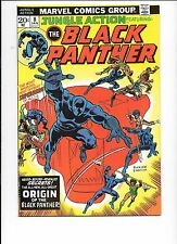 Jungle Action #8 Featuring The Black Panther January 1974 Origin of