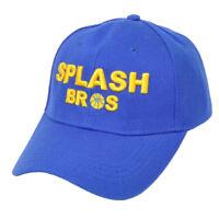 NBA Golden State Warriors Splash Bros Brother  Blue Adjustable Hat Cap