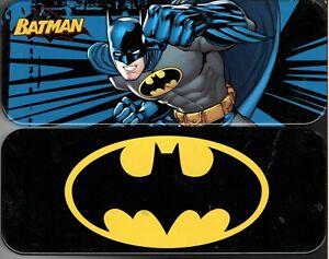 Batman - Metal Tin Case Pencil Box Storage