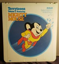 RCA SelectaVision VideoDisc CED - Terrytoons Vol. 1 - Featuring Mighty Mouse!!