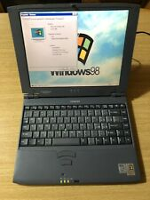 Retrocomputer Ultra Thin Laptop Toshiba Portege 7010ct Vintage Pentium 2 Windows