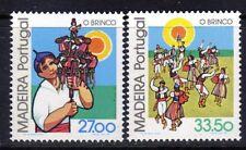 Madeira sc#86-87 (1982) O Brinco full set OG MNH**
