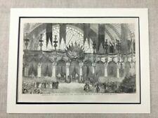 Antique (Pre - 1900) Engraving Famous Places Art Prints