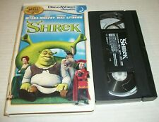Shrek (Vhs, 2001 Clam Shell) Mike Meyers, Eddie Murphy