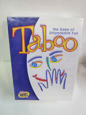 vintage 2000 Milton Bradley Taboo party family board GAME new
