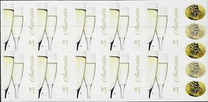 MUH Love To Celebrate $1 Champagne 2016 S/A Australian Booklet