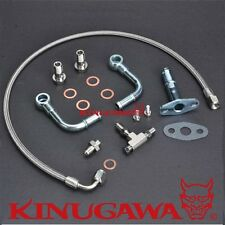Kinugawa Universal Turbo Oil Water Line Kit Mitsubishi TF035 TD04 w/ M10 x 1.25