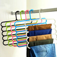 Clothes Dry Rack Holder Hanger Hook for Pants Trousers Jeans Scarf Coat Eyeful