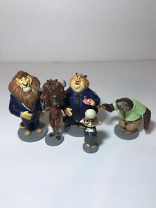 Disney Zootopia 13 Toy Action Figures Exclusive Cake Toppers PVC