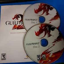 Guild Wars 2 (PC, 2012) 2 discs and code #15036