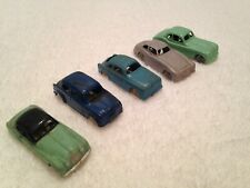 Lot of 5 Vintage INGAP Italy, Sport Roadster HO Scale Plastic Toy Cars