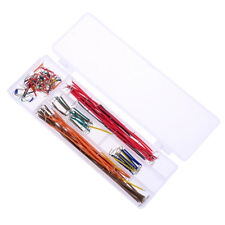 140pcs Solderless Breadboard Jumper Cable Wire Kit Box Diy Shield For Arduinoaa