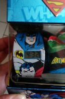 Montre DC Comics enfants superman batman. Watch. Collector! Ideal pour Noël Xmas