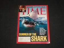2001 JULY 30 TIME MAGAZINE - SUMMER OF THE SHARK - T 3104