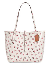 COACH 28183 Market Medium Tote with Floral Bloom Silver/Chalk Multi NWT $350 🌸