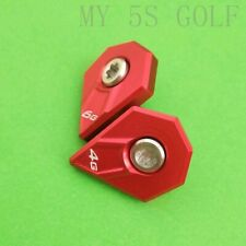 2019 Golf Cobra F9 Driver Weight Screw 4G 6G RED