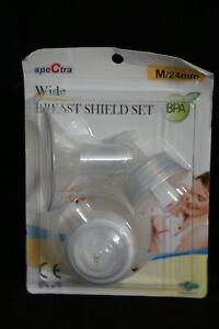 Spectra Wide Breast Shield Set M/24mm BRAND NEW