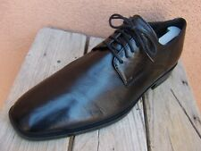 COLE HAAN Mens Black Dress Shoe Comfortable Lace Up Plain Toe Oxfords Sz Size 9M