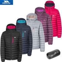 Trespass Ladies Arabel Lightweight Down Jacket with Pouch | Puffer Style