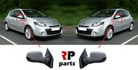 FOR RENAULT CLIO III 2009-2012 OUTSIDE WING MIRROR ELECTRIC HEATED PAIR SET