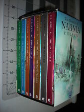 The Chronicles of Narnia Complete Series PB Box/Boxed Set C.S Lewis Gently Used