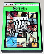 GTA-San Andreas-PC DVD-GRAND THEFT AUTO III-ETAT NEUF