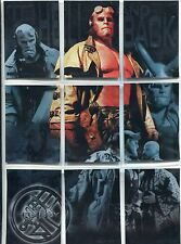 Hellboy The Movie Complete To Hell And Back Chase Card Set P1-9