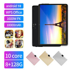 "Android 10.0 Ultra-thin 10.1"" 8+128GB Tablet PC Dual SIM 4G Network Four Cameras"