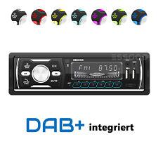 DAB+ Autoradio RDS AM FM Bluetooth Freisprecheinrichtung 2 USB SD AUX 1 DIN MP3
