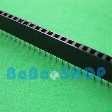 10pcs 40 Pin 2.54 mm Single Row Female Pin Header Strip PCB Socket New