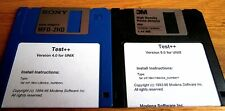 Modena Test+ Ver 4&5 for Unix - 1996
