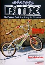 Classic BMX Magazine No4 Old School Hutch Mongoose Skyway Redline Haro GT JMC SE