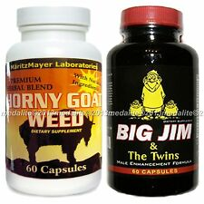 Penis Enlargement Pill Big Jim And The Twins & Horny Goat Weed Male Enhancement