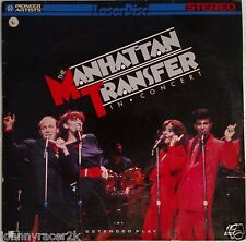 MANHATTAN TRANSFER Laserdisc Live in Concert LD