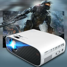 4K 1080P HD WiFi Bluetooth 3D LED Mini Home Cinema Video Projector 18000 Lumens