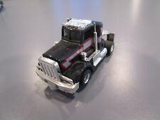 Tyco Peterbilt Semi Truck Black/Silver Red Stripes